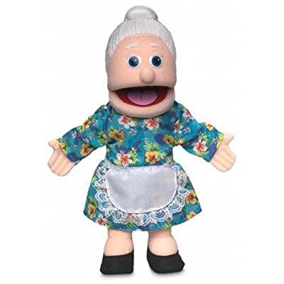 ''Granny'', 14In Glove Puppet, Peach -Affordable Gift for your Little One! Item #DSPU-SP3201 by Silly Puppets