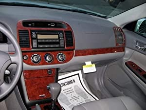 toyota camry interior burl wood dash trim kit set 2005 2006 automotive. Black Bedroom Furniture Sets. Home Design Ideas