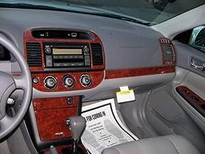 toyota camry interior burl wood dash trim kit set 2005 2006 automotive. Black Bedroom Furniture Sets. Home Design Ideas