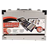 Daler Rowney Complete Artist Kit 122 pcs w/metal carrying case