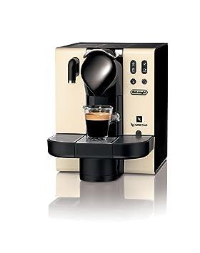 Nespresso Lattissima Creamy white (beige) EN660 DeLonghi - Cafetera monodosis (19 bares, Preparación automática de Capuccino, Modo de ahorro de energía): ...
