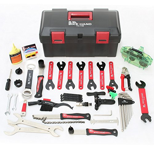 BIKEHAND Complete Bike Bicycle Repair Tools Tool - Bike Tool Kit Set