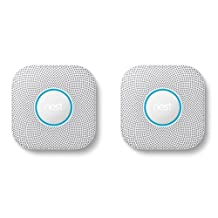 Nest Protect Smoke & Carbon Monoxide Alarm, Wired (2nd Gen) & Nest Protect Smoke & Carbon Monoxide Alarm, Battery (2nd gen)