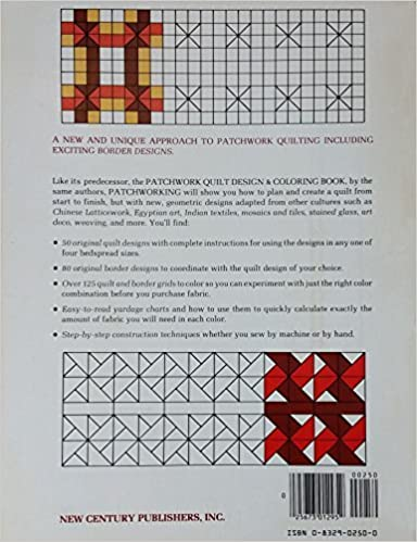 Ebook herunterladen pdf-Format Patchworking: A Quilt Design and Coloring Book PDF FB2 iBook