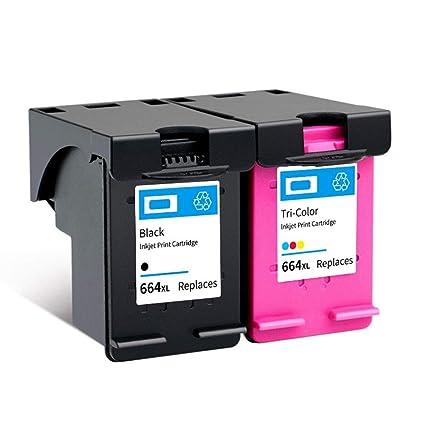 664XL Cartucho es fácil de añadir cartucho de tinta de gran ...