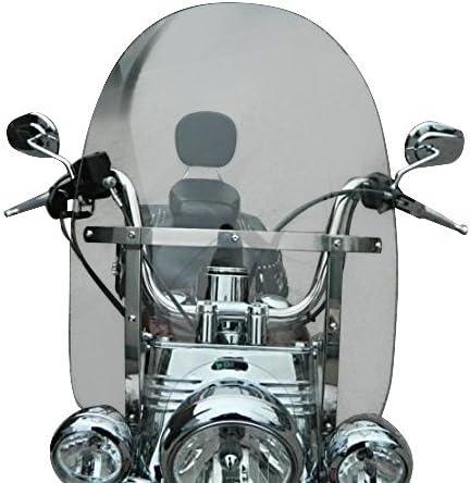 Seitenverkleidung f/ür Harley Road King Classic 09-19 schwarz