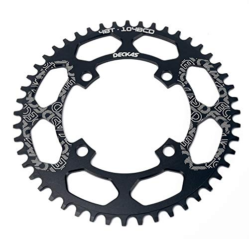 46T Chrome Various Thickness Fenix 4 Circles Bike Sprocket//Chainring