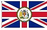 Fyon Commissioner of the British Antarctic Territory flag British Antarctic Territory flag banner 5x8ft
