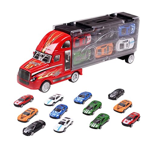 YeahiBaby Heavy Duty Transport Car Carrier Truck Toy for sale  Delivered anywhere in Canada