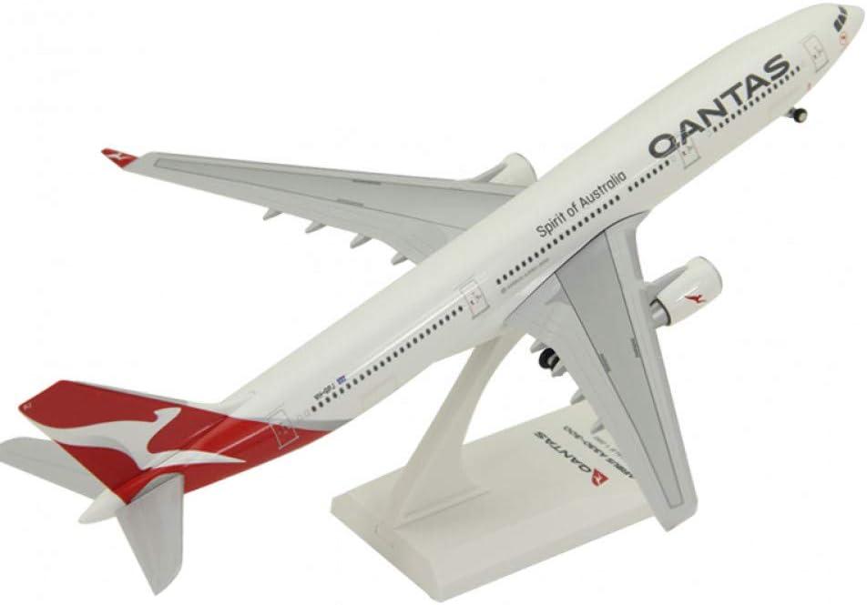 JKBDH Airbus A330-300 modèle d'avion modèle d'avion d'aviation décoration Cadeau et Roues de Train d'atterrissage A