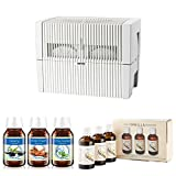 Venta LW45W Humidifier & Airwasher (White) w/ Venta Airwasher 6 PACK Fragrances