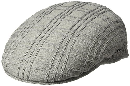Kangol Men's Rib Check 504 Ivy Cap, Gray, M
