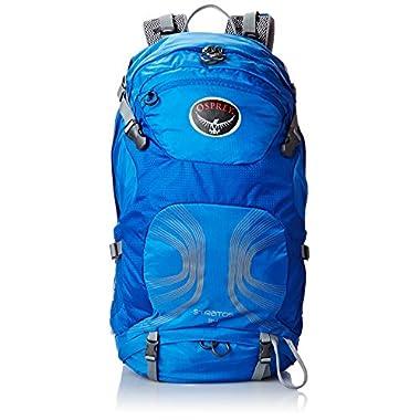 Osprey Packs Stratos 34 Backpack, Harbor Blue, Medium/Large