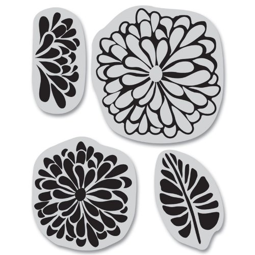 Hero Arts Rubber Stamps Sweet Threads Set Cling Stamp ()