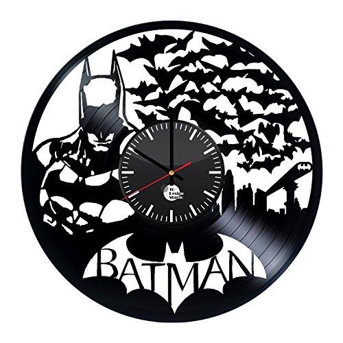Batman Handmade Vinyl Record Wall Clock Fun gift Vintage Unique Home decor