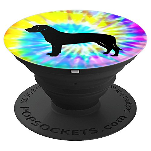 Greater Swiss Mountain dog Puppy Tie Dye Prints - PopSockets Grip and Stand for Phones and ()