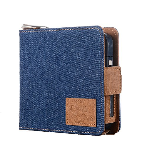 Black Electronic Cover Holder Cigarette Carrying Cigarette Travel Case Cigar Case Bag for for Box Blue Anti Protective Kit Pouch IQOS E Scratch Wallet Portable Shell gTgrxYn