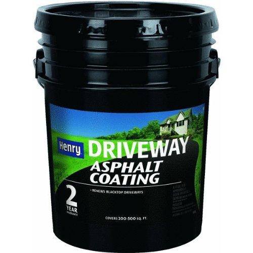 Henry Company HE130074. Blacktop Driveway Asphalt Coating (Asphalt Driveway Coating)