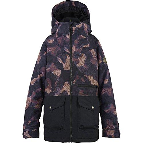Apparel Burton Insulated Jackets (Burton Ace Jacket - Boys' Marker Cam/True Black, L)