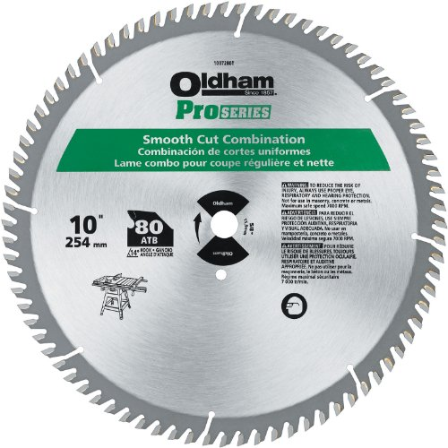 PORTER-CABLE 1007280T 10-Inch 80T Carbide Saw Blade, Signature Woodworking