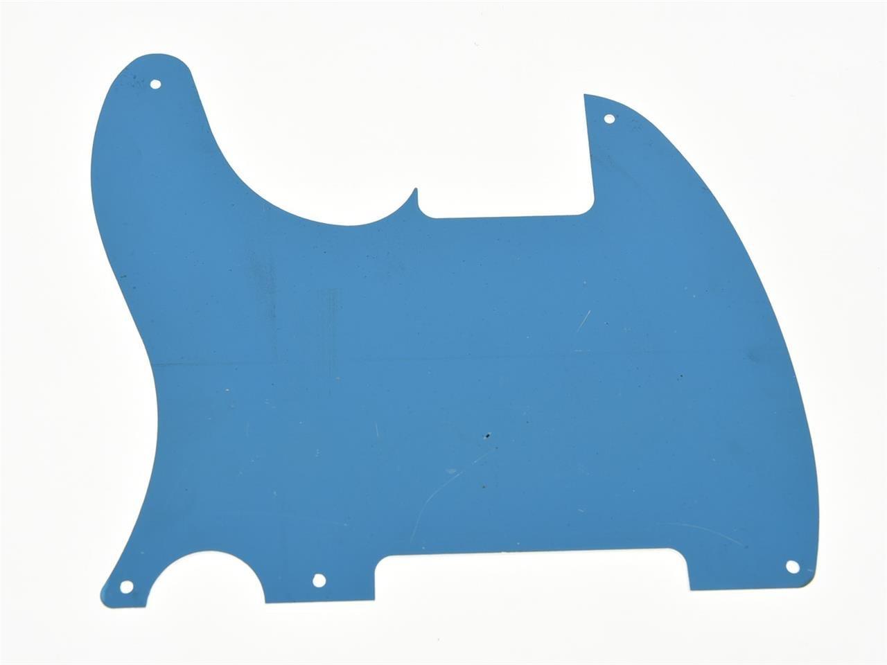 Kaish argento specchio 5/fori tele Blank Pickguard scratch piastra no foro pickup per Fender Esquire