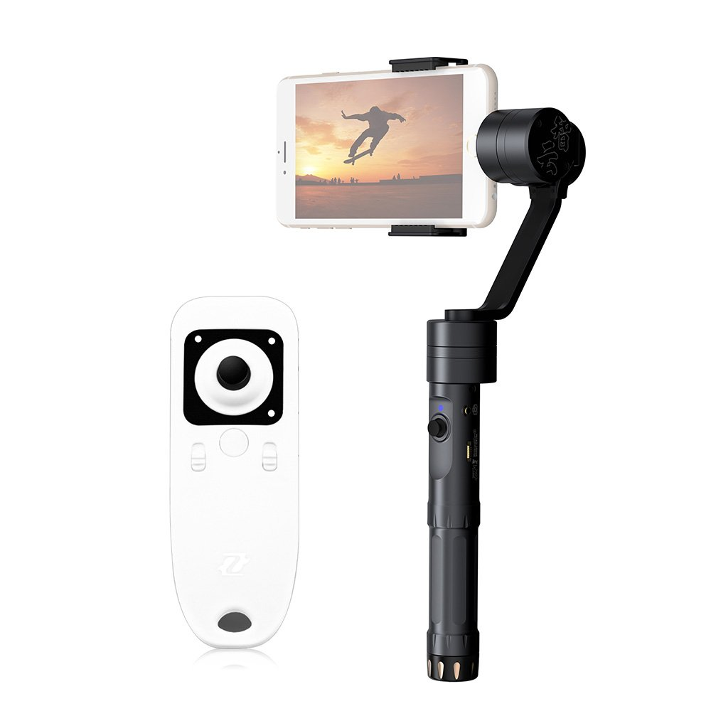 Zhiyun - Z1-Smooth-II 2 3 Axis Brushless Handheld Camera Gimbal Stabilizer with Remote Controller for Smartphone Apple iPhone Samsung Galaxy S7 S6 edge IOS Android by Zhiyun
