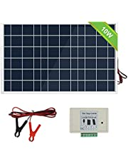 ECOWORTHY 100W 12 Volt Solar Panel Polycrystalline 100 Watt Solar Module for Battery Charging IP65 Protection