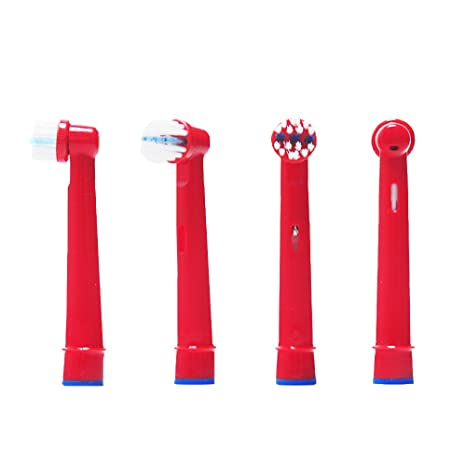 Oral-Q Cepillo de dientes eléctrico Heads de repuesto para Kids para Braun Oral-