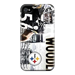 For iphone 6 4.7 Fashion Design Pittsburgh Steelers Case-bBW1745tvBx