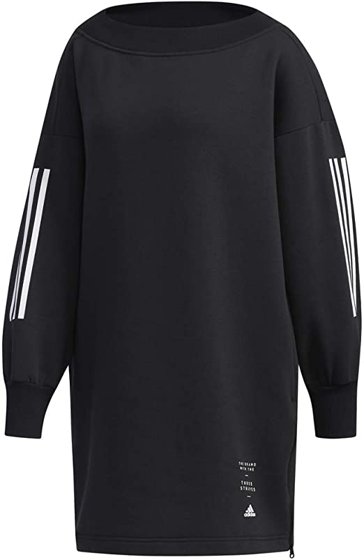 adidas Women Tshirt Athletics Casual ID Tunic Comfort Dress