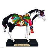 Enesco Trail of Painted Ponies Black Jack Figurine, 7-Inch