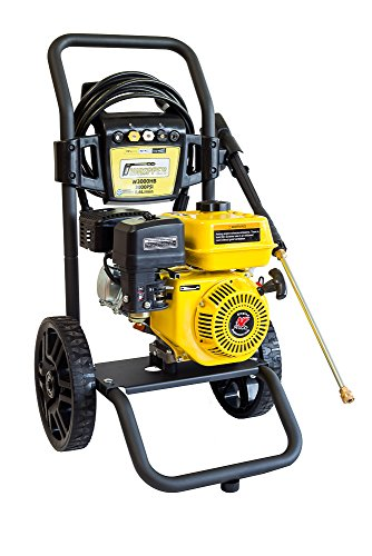 Waspper W3000HB 3000PSI 3.0 GPM Gas Powered Cold Water Pressure Washer AR Pump Brass HeadPower Washer Gasoline Easy Start Axial Aluminum Pump Small Light Durable Frame and Wheels For Sale