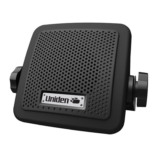 Uniden (BC7) Bearcat 7-Watt External Communications Speaker. Durable Rugged Design, Perfect for Amplifying Uniden Scanners, CB Radios, and Other Communications Receivers.