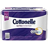 Cottonelle Ultra ComfortCare Toilet Paper Bath Tissue, 36 Family Rolls