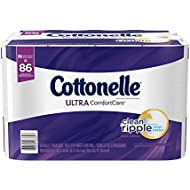Cottonelle Ultra ComfortCare Family Roll Toilet Paper...
