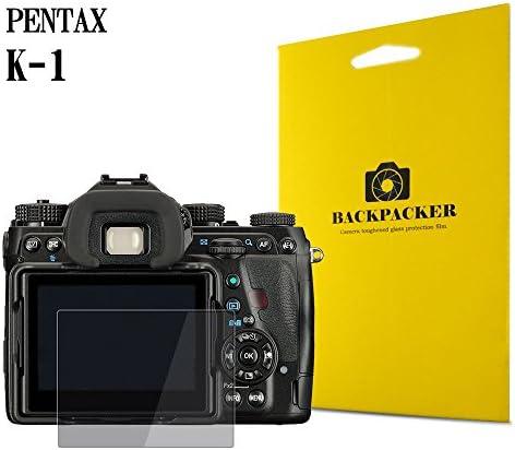 [スポンサー プロダクト]【BACKPACKER】 カメラ液晶保護ガラス 液晶プロテクター 0.33mm強化ガラス使用 9H硬度 高鮮明 PENTAX K-1用