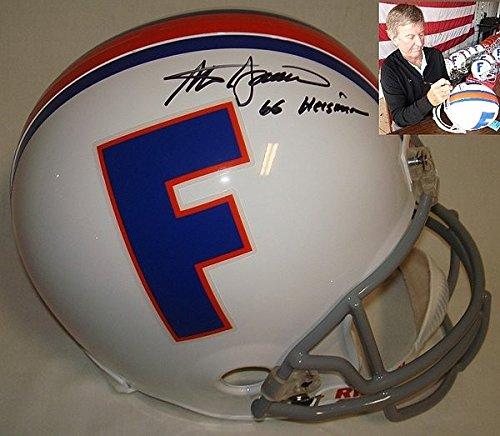 Steve Spurrier Autographed Signed Florida Gators Full Size Replica Helmet - 66 (Steve Spurrier Autographed Gators)
