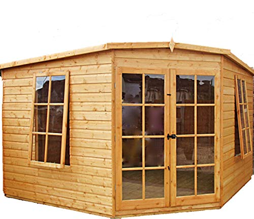 Shire Hampton 10x10 ft Corner Summerhouse