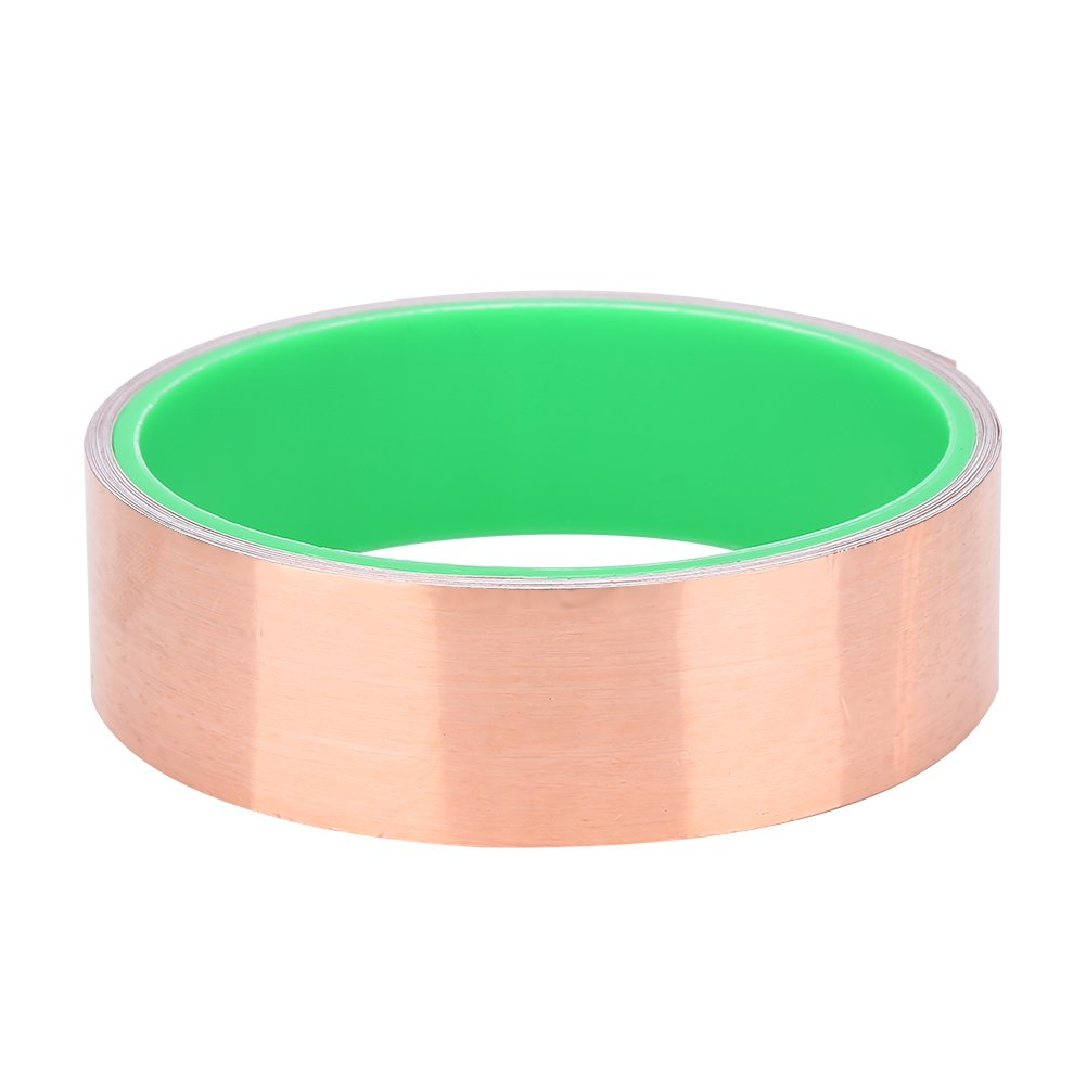 3M Guitar Copper Foil Tape Double Conductive Adhesive Tape 0.6/1.2/2.5/5/10/15.2cm Width for EMI Shielding ( Size : 10cm/3.93'' ) VGEBY