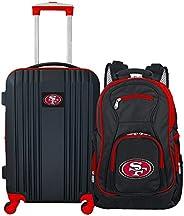 NFL San Francisco 49ers 2-Piece Luggage Set