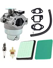N/C ZAMDOE GCV160 Honda Carburateur Kit (Carb, Pakkingen, Luchtfilter, Brandstoflijn) voor Honda GCV160A GCV160LA GCV160LE Motoren HRB216 HRR216 HRS216 HRT216 HRZ216 Grasmaaier