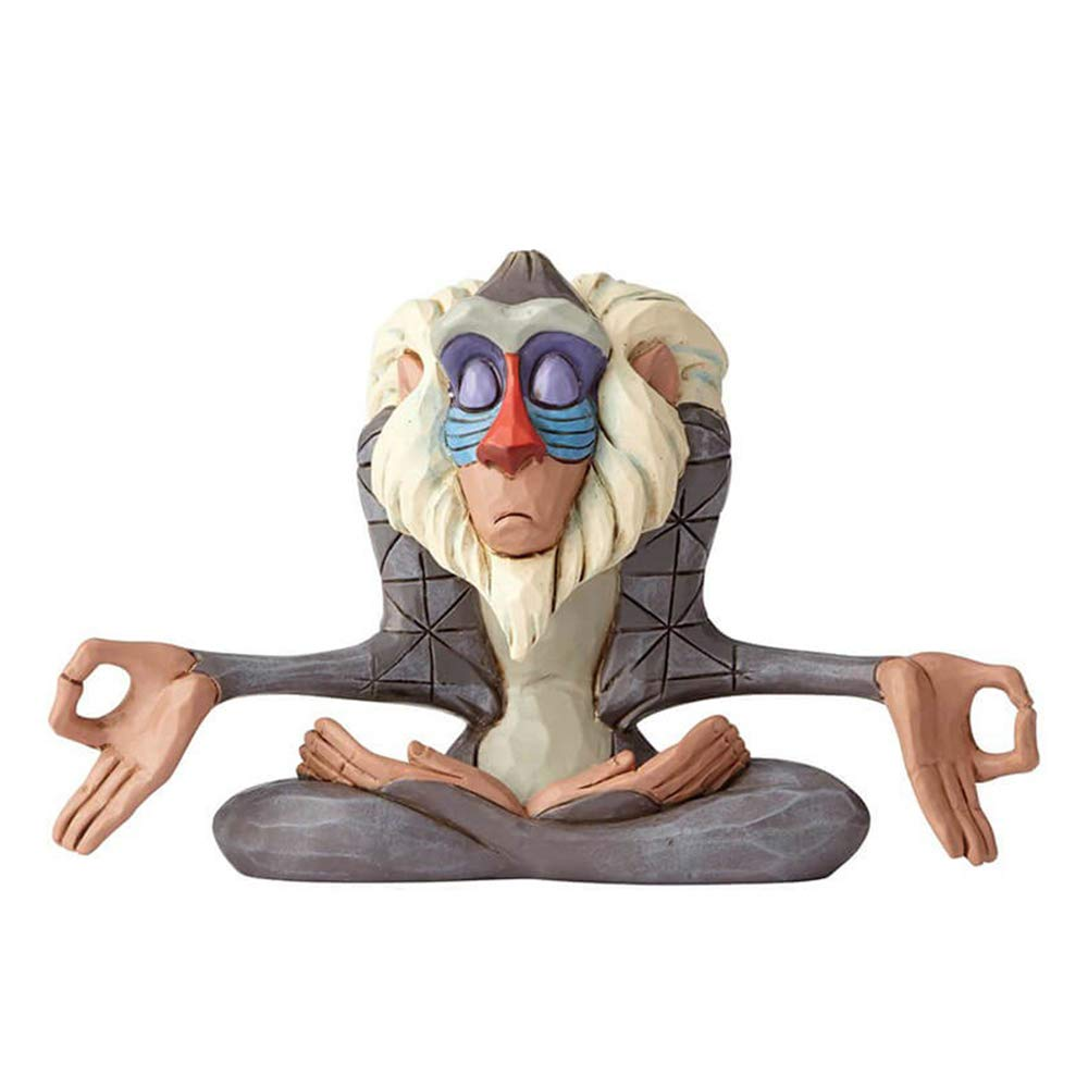 Enesco Disney Traditions by Jim Shore Lion King Rafiki Figurine, 3.1 Inch, Multicolor