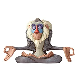 Enesco Disney Traditions by Jim Shore Lion King Rafiki Figurine, 3.1 Inch, Multicolor