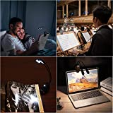 Music Stand Light, Clip on LED Book Lights, USB and