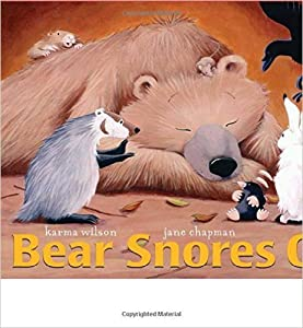 Paperback Bear Snores On Book