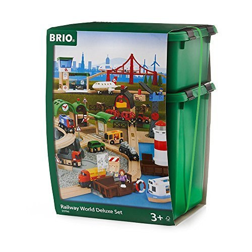 Brio Railway World Deluxe Set by Brio