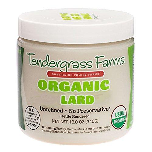 Organic Lard, 12 oz. (1 Pack)