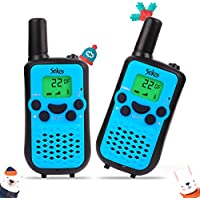 Walkie Talkies, Wireless Interphone 22 Channel FRS/GMRS 2 Way Radio 2 miles (up to 3 Miles) UHF Handheld Walkie Talkies for Kids,Business Outdoor Use(1 Pair) (Blue)