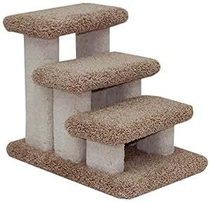 Beatrise Pet Products Doggie Carpeted Steps Pet Supplies