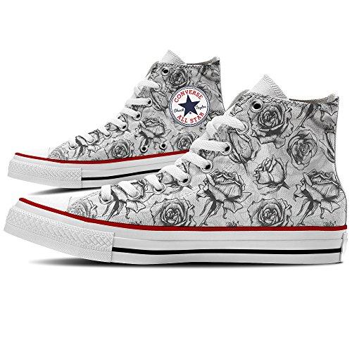 Sneaker Scarpe Converse Personalizzate Black Roses by YourStyle Precios De Descuento La Venta De Bienes Venta Buena Venta Venta De Descuento En Línea 3ucPzIHy